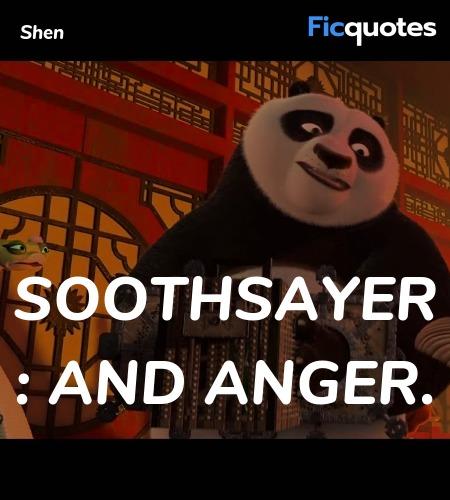 Shen Quotes Kung Fu Panda 2 2011