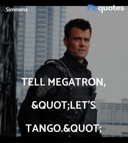 Tell Megatron,