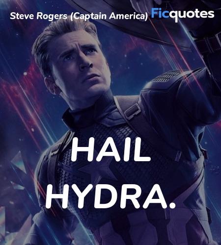 Hail Hydra quote image