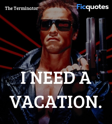 I need a vacation quote image