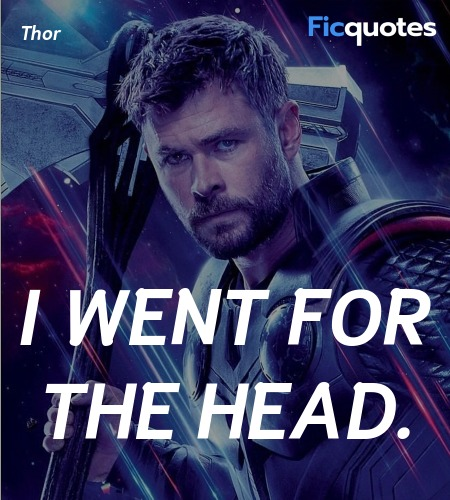 I went for the head quote image