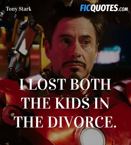I lost both the kids in the divorce quote image