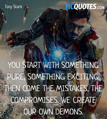 Iron Man 3 Quotes Top Iron Man 3 Movie Quotes