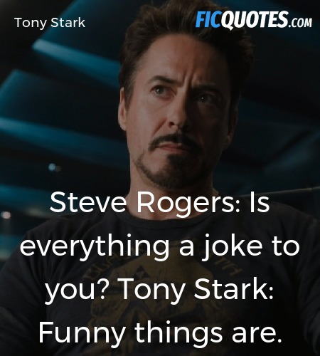 Funny things are quote image