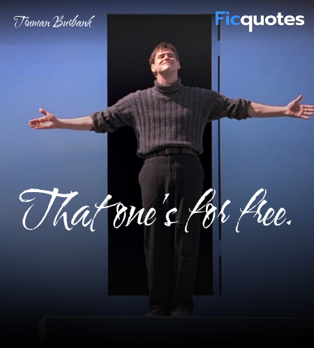 That one's for free quote image