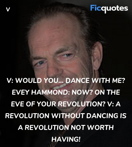 A revolution without dancing is a revolution not ... quote image