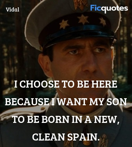 I choose to be here because I want my son to be ... quote image