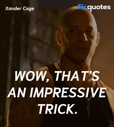 Wow, that's an impressive trick quote image
